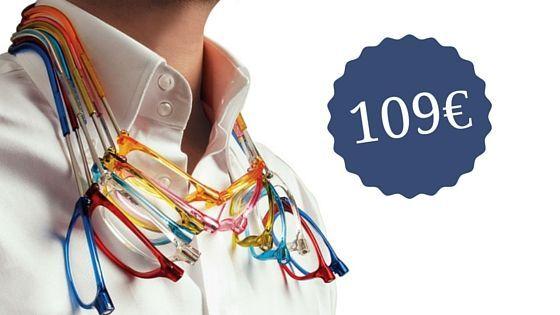 Gafas Clic de colores y precio de 109€